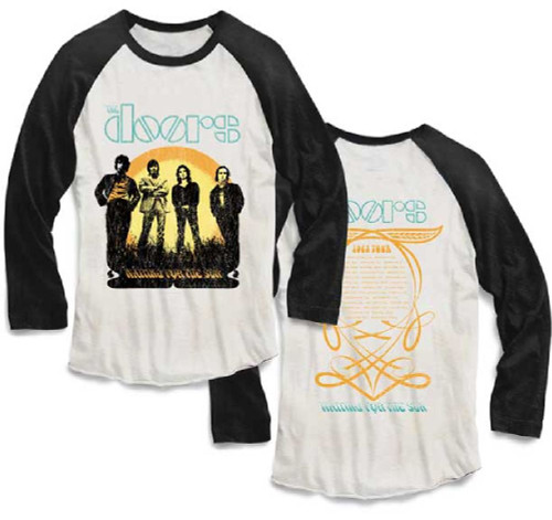 The Doors Waiting for the Sun 1968 Tour Vintage Concert t-shirt