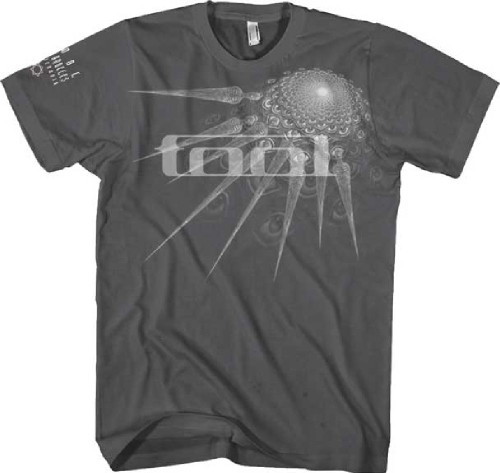 Tool Specter Spikes Logo Men's Gray Fitted T-shirt