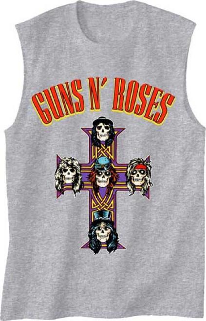Guns N Roses Logo and Appetite for Destruction T-shirt