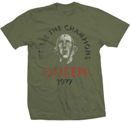 Queen We Are the Champions Vintage T-shirt