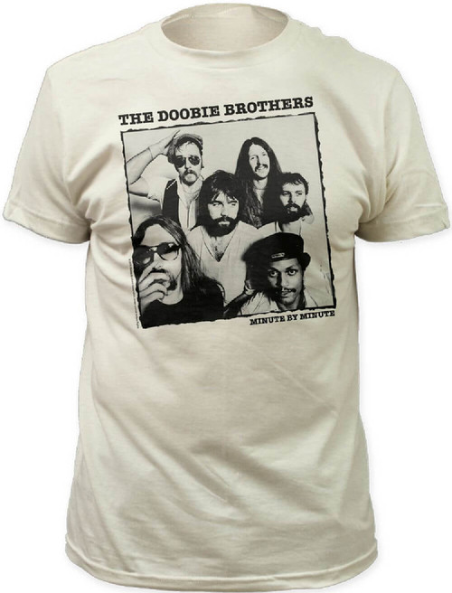 Doobie Brothers T-shirt - Minute by Minute Album Cover Artwork