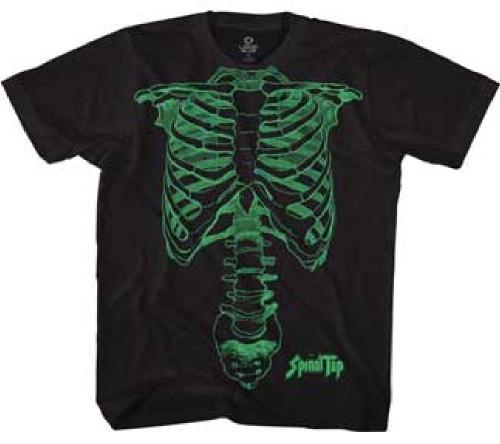 Spinal Tap T-shirt - Nigel Tufnel Skeleton Drawing | Men's Black Shirt