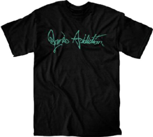 Jane's Addiction T-shirt - Jane's Addiction Logo | Men's Black Shirt