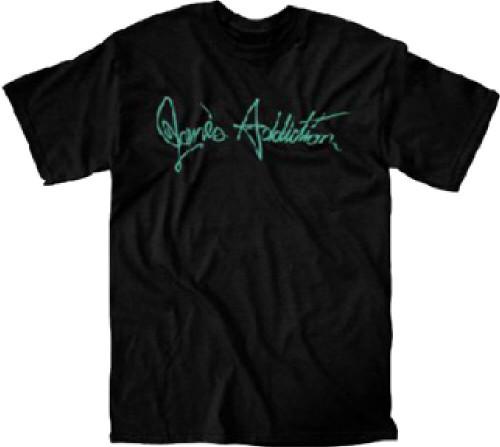 Jane's Addiction Logo T-shirt | Men's Black Shirt
