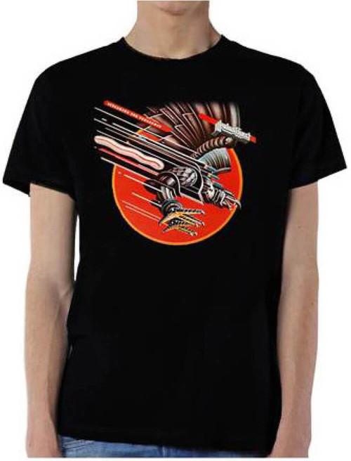 Judas Priest T-shirt - Screaming for Vengeance Album Cover Artwork | Men's Black Shirt