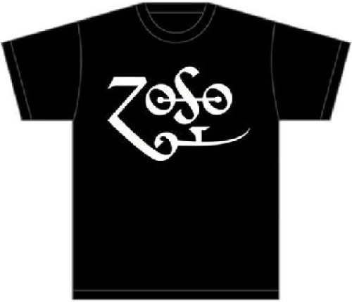 Led Zeppelin T-shirt - Jimmy Page Zoso Logo | Men's Black Shirt