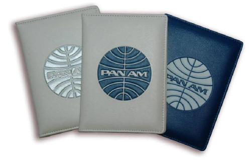 Pan Am Originals Luggage - Passport Cover. With Pan Am Airlines Classic Logo