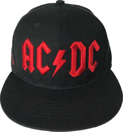 AC/DC Logo Black Baseball Cap
