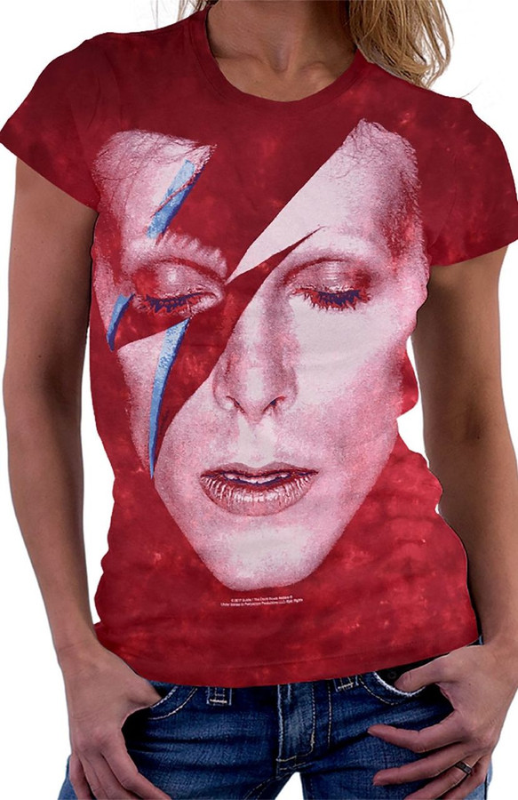 David Bowie Aladdin Sane Album Cover T-shirt
