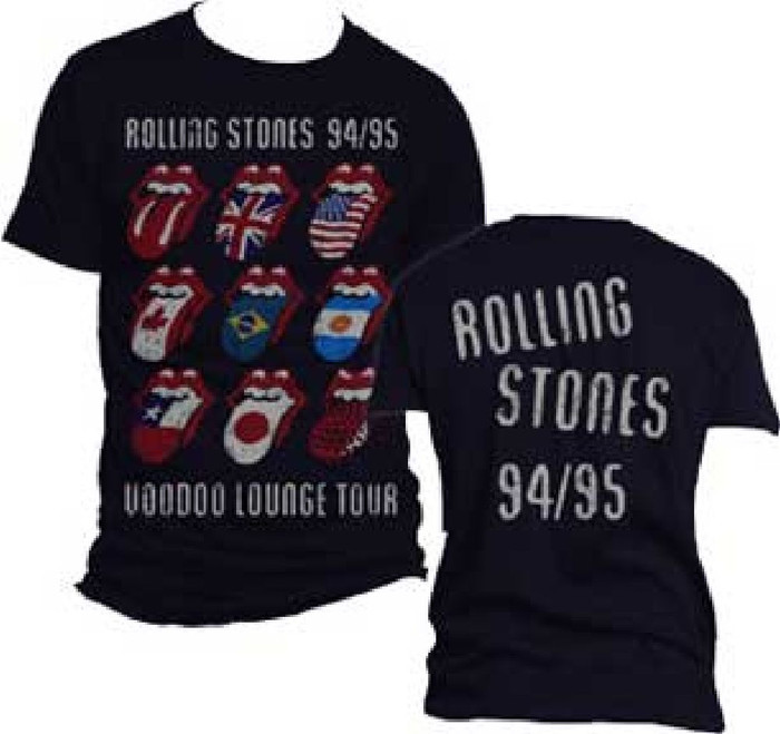 Rolling Stones Voodoo Lounge Tour Concert T-shirt