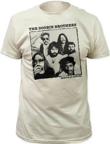 Classic Book Cover Tee Shirts : The doobie brothers minute by album cover artwork t