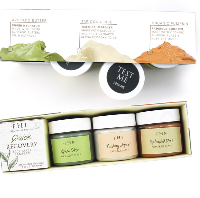 FarmHouse Fresh Quick Recovery Mini Mask Set