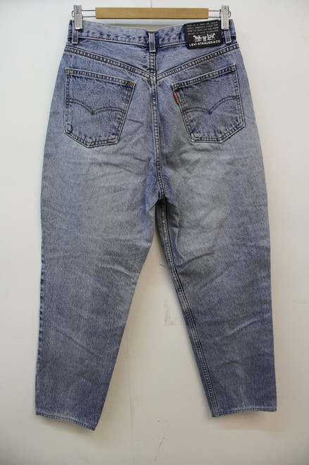 db121ddea20 ... LEVI STRAUSS & CO 881 Men's Classic Straight Blue Vintage Denim Jeans  ...