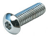 Chrome Button Head Socket Cap Screw USS