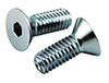 Chrome Flat Head Socket Cap Screw (SAE) Fine