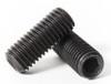 M8 x 1.25 Socket Set Screws - Cup Point