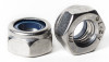 Stainless Metric Nylon Insert Lock Nuts Std. Pitch