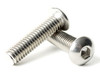 Stainless Button Head Socket Cap (SAE) Fine