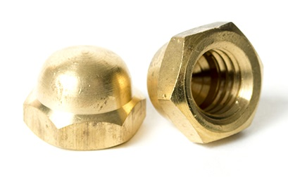 BRASS Acorn (Cap) Nut | The Nutty Company, Inc.