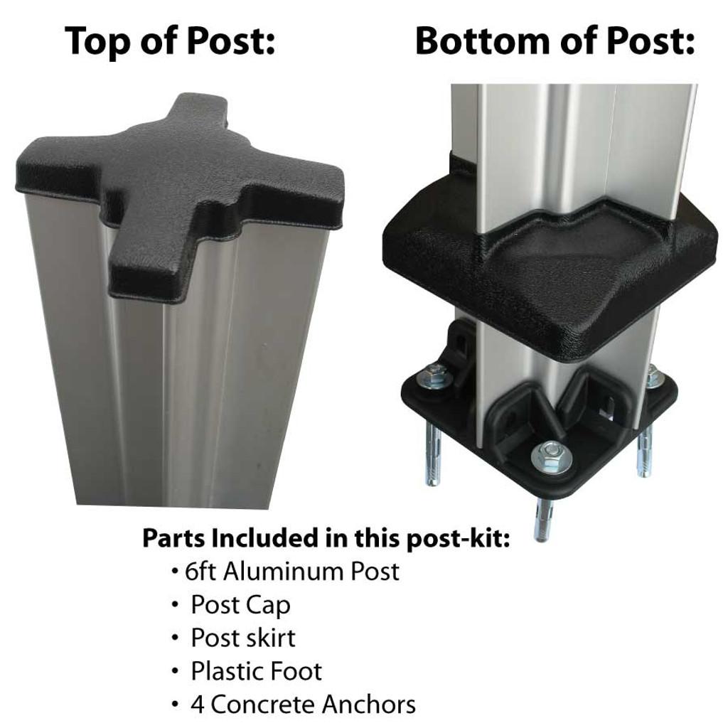 Kennel Post kit.