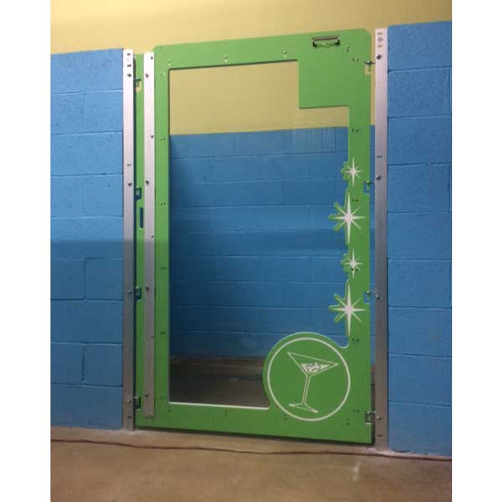 Custom Dog Kennel door.
