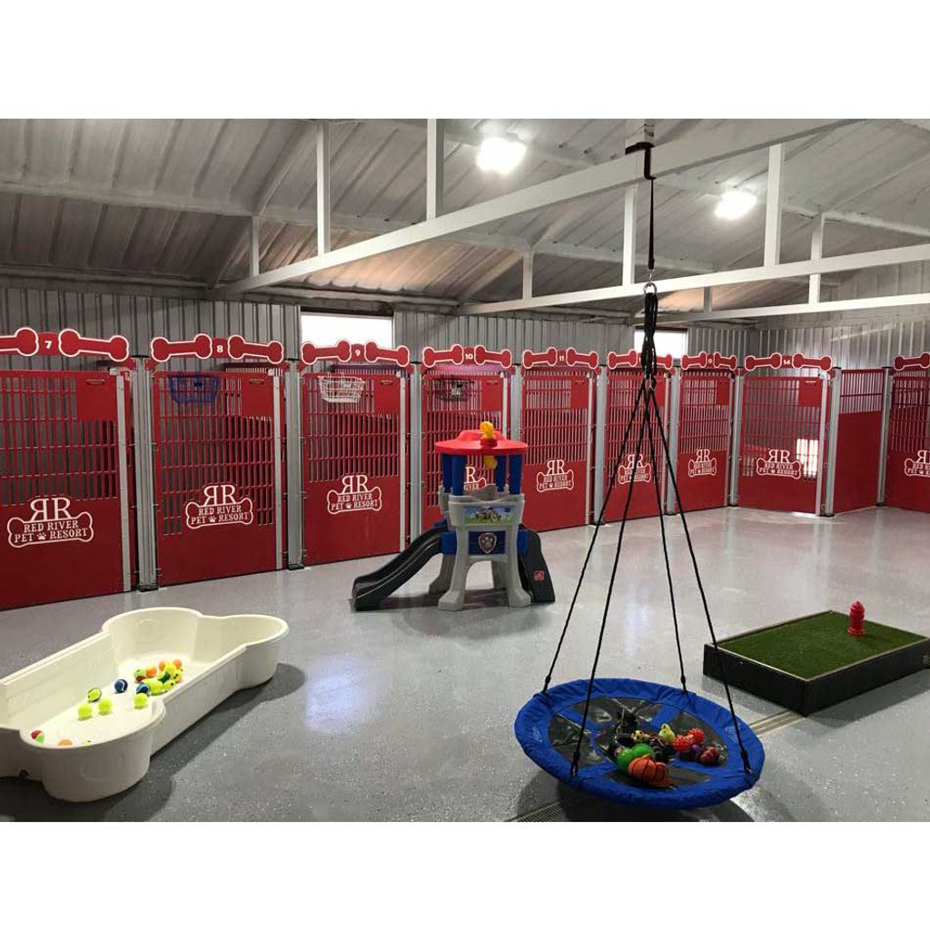 Red Dog Kennels.