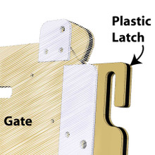 replacement gate latch for signature-series dog kennels.