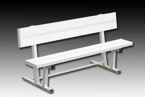 a45700476 Kwik Goal 6' Bench (w/ back) - DTI Sports