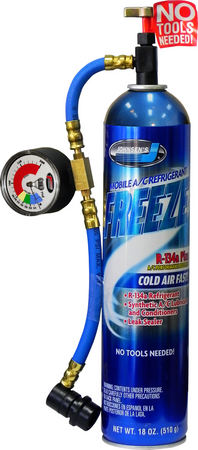 6407   Freeze Plus with Hose & Gauge Assembly