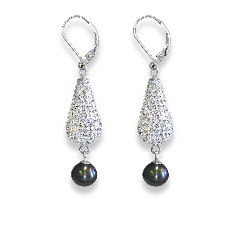 Deco Drop Pearl  (dark gray)