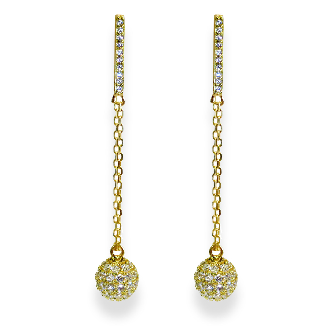 Champagne Earrings Gold