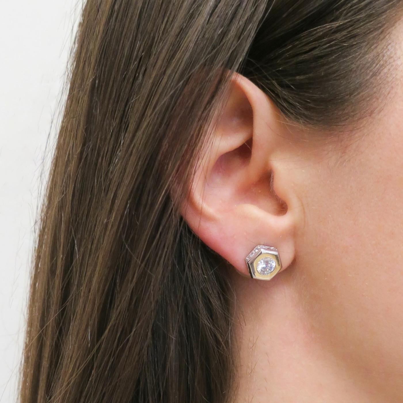 The Nut Stud Earring