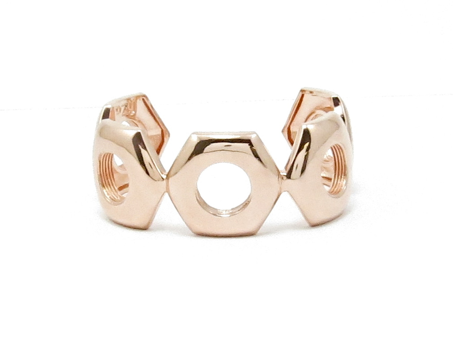Rose Gold Nut Cuff