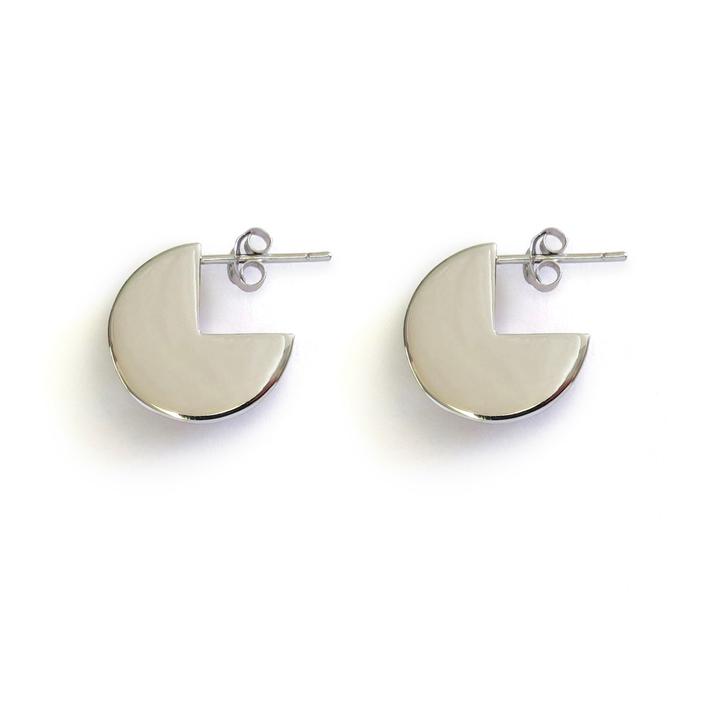 Silver Moonshine Earrings