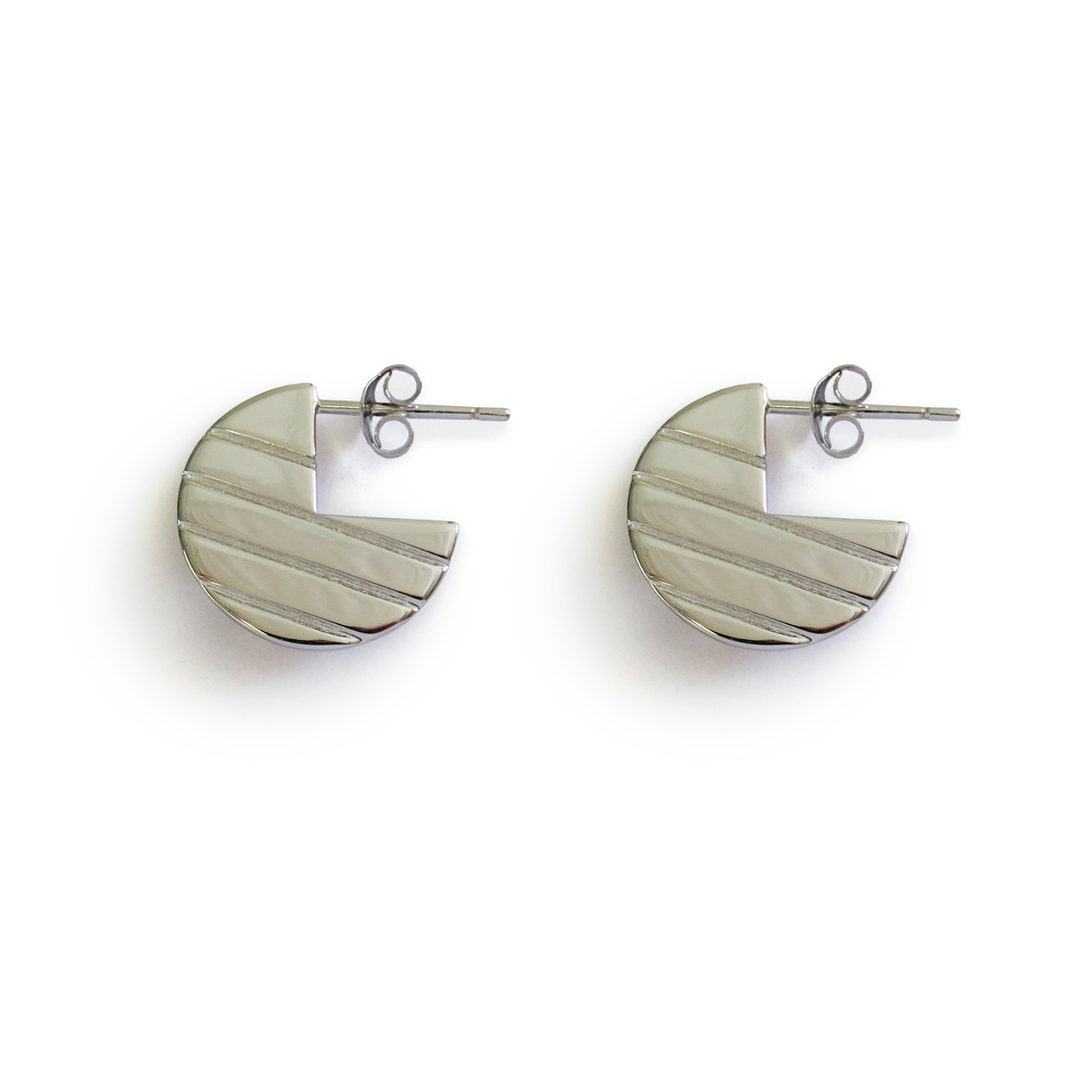 Silver Moonstruck Earrings