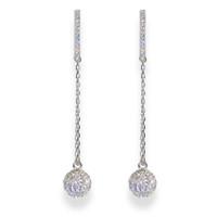 Champagne Earrings Silver