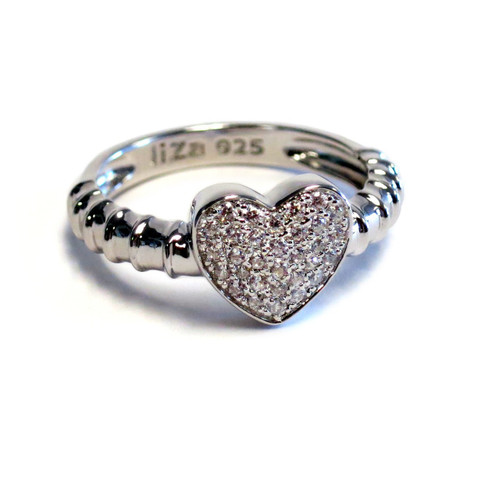 Touch Ring Stack Silver