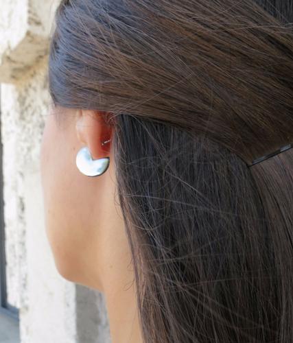 Silver Moonshine Earrings