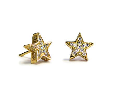 star white dance sparkling pierced rhodium plating product stud zoom swarovski earrings us en web