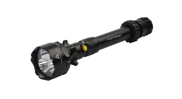 Large LED Flashlight with Power Bank