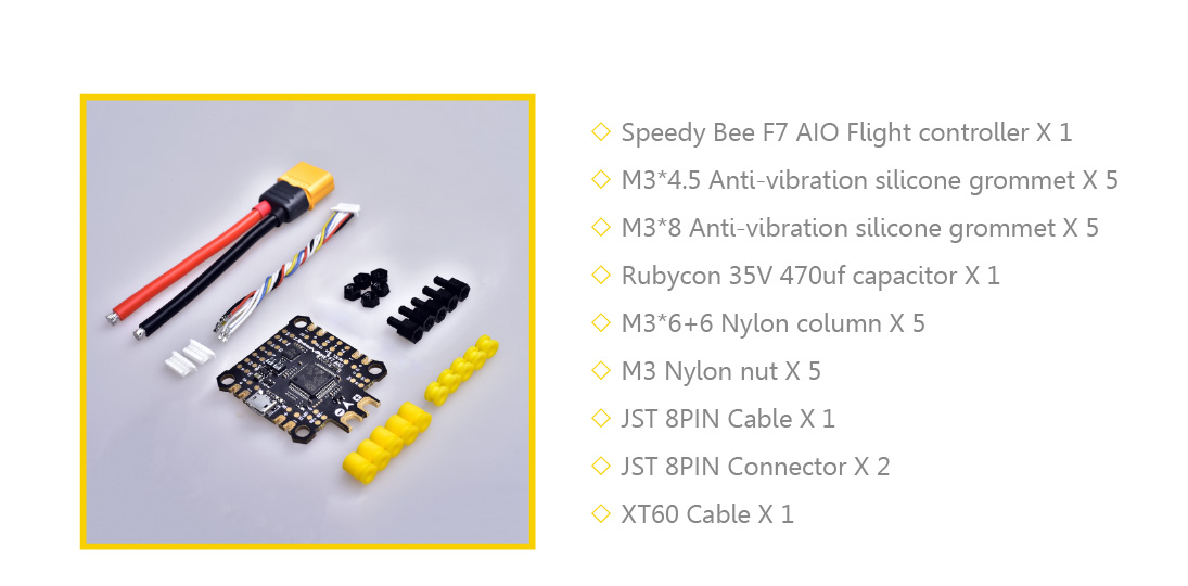 F7 AIO Flight Controller