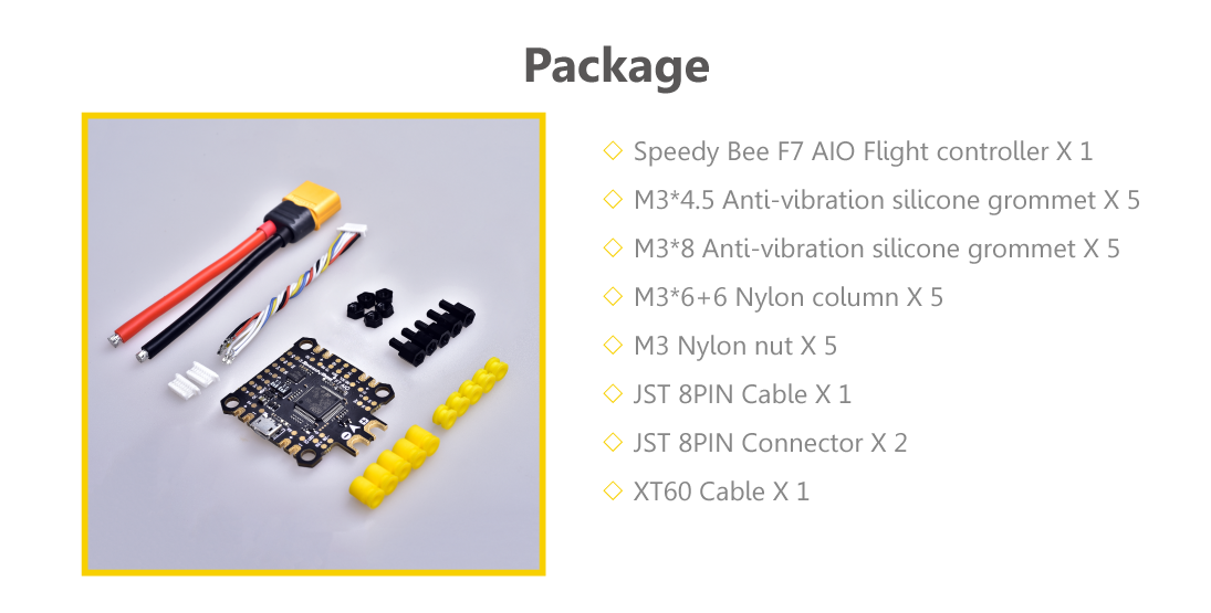 F7 AIO Flight Controller