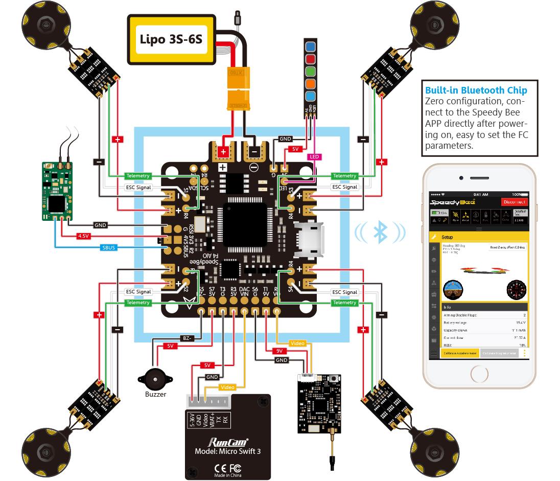 cc3d flight controller wiring diagram all wiring diagram