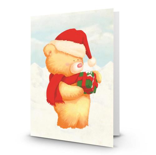 Christmas Teddy and Present