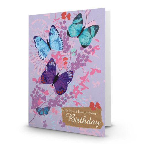 Birthday Butterflies - AA100