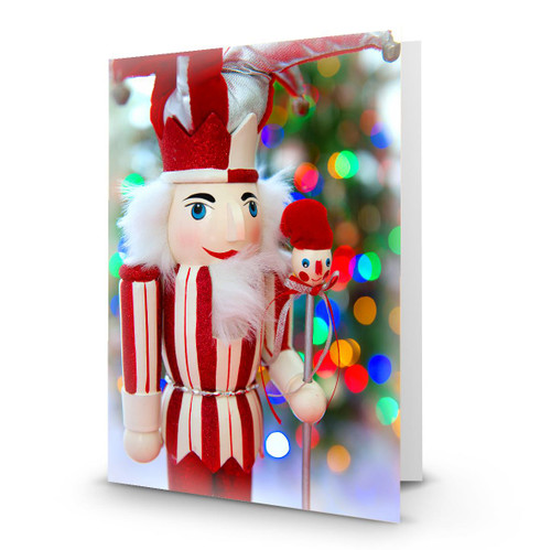 """Nutcracker 1""  Artist Premier Card Folded in Sets  - Box Mailed to You BMTY - Helene Paquin"