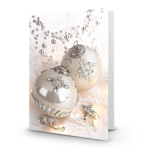 """2 Silver Ornaments"" Artist Premier in Sets - Box Mailed to You (BMTY)"