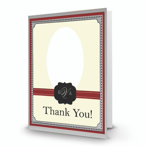 K & A  Thank You Photo Card 20 - Full Service Direct Mailed - FSDM