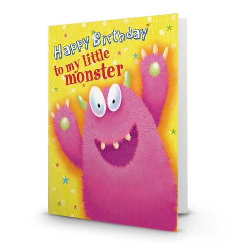 Happy Birthday to my Little Monster - AA100