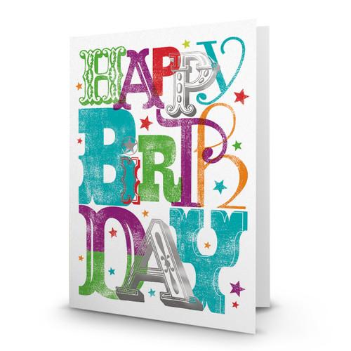 Happy Birthday Fonts 2 - AA100